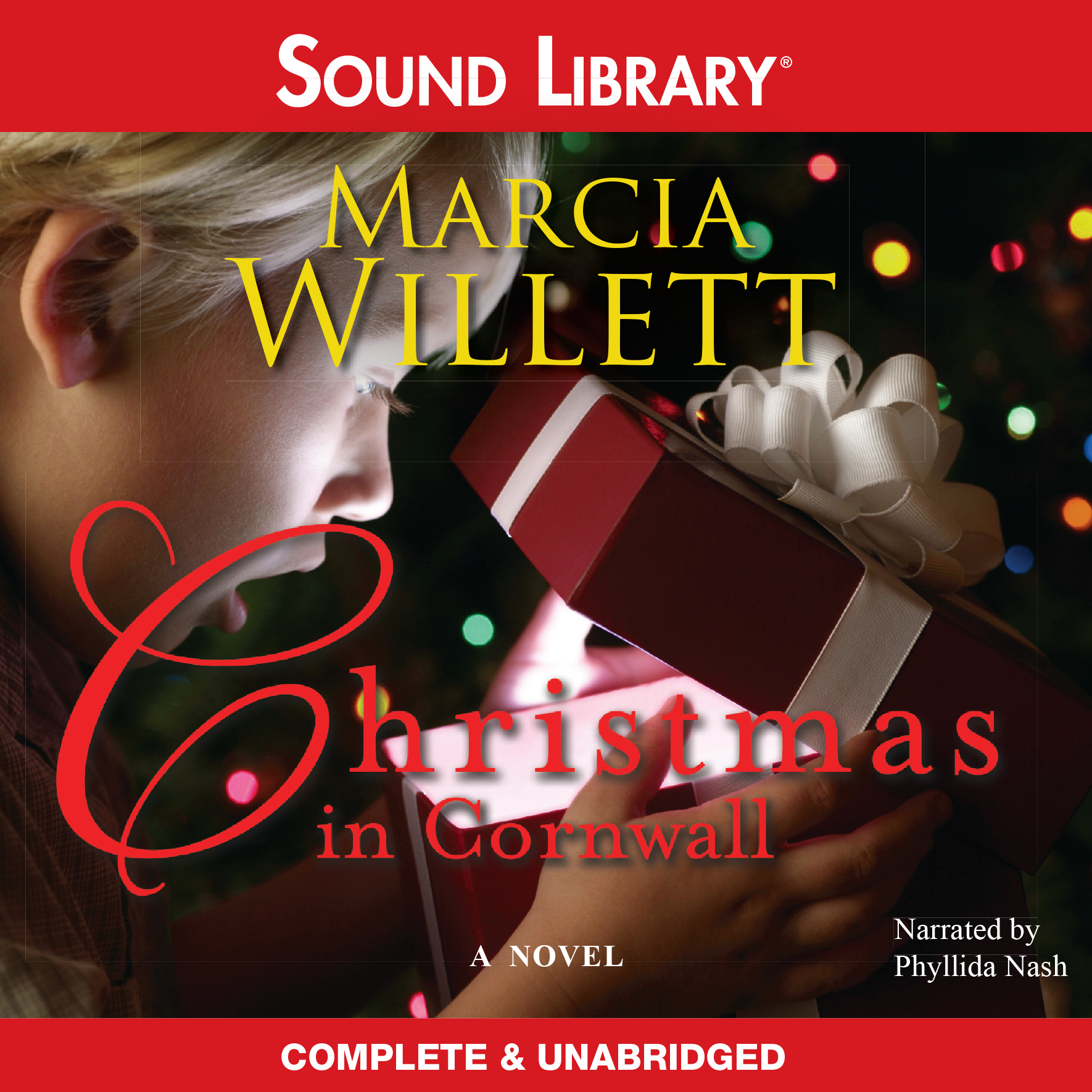 Printable Christmas in Cornwall Audiobook Cover Art