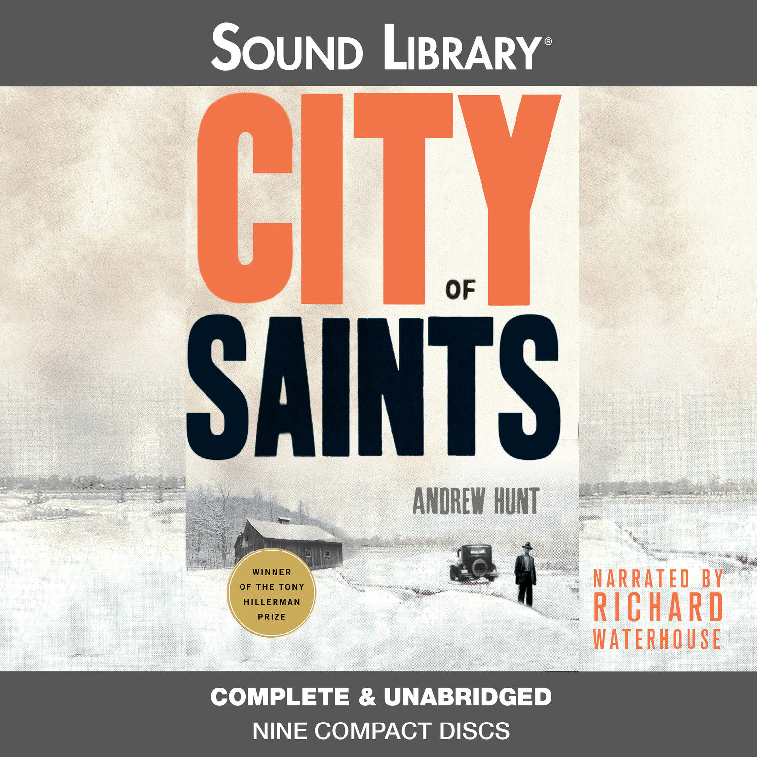 Printable City of Saints Audiobook Cover Art
