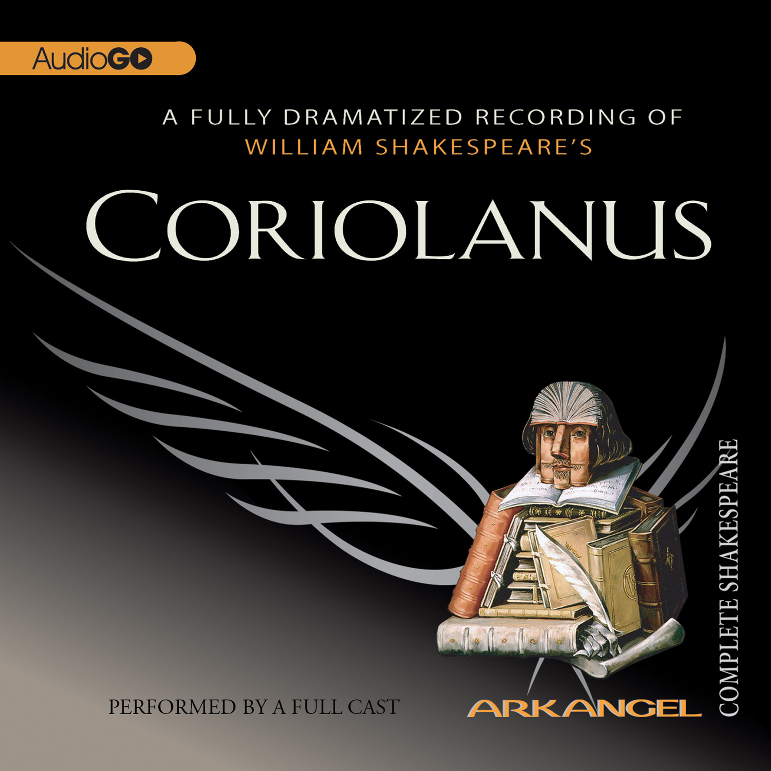 Printable Coriolanus Audiobook Cover Art