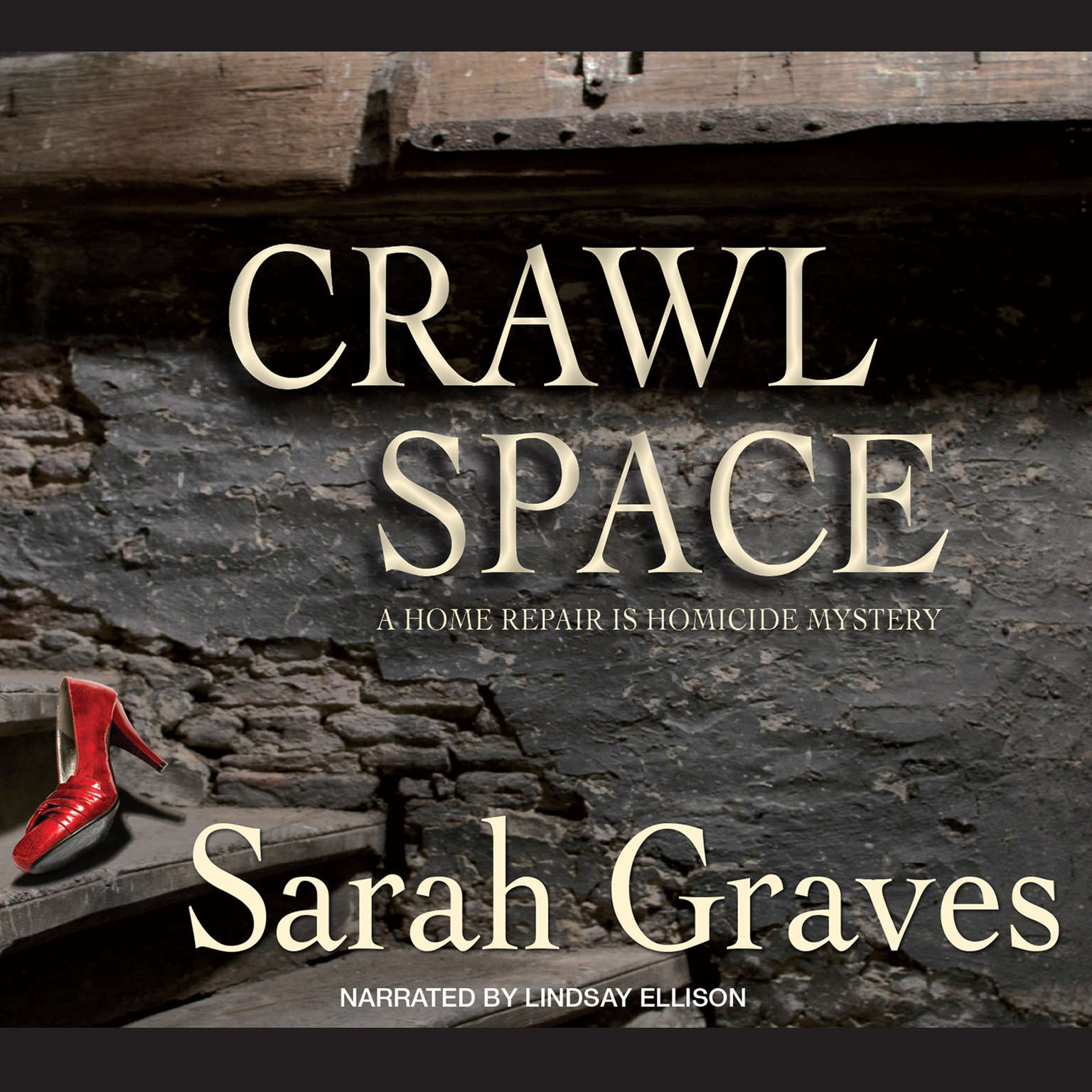 Printable Crawlspace Audiobook Cover Art