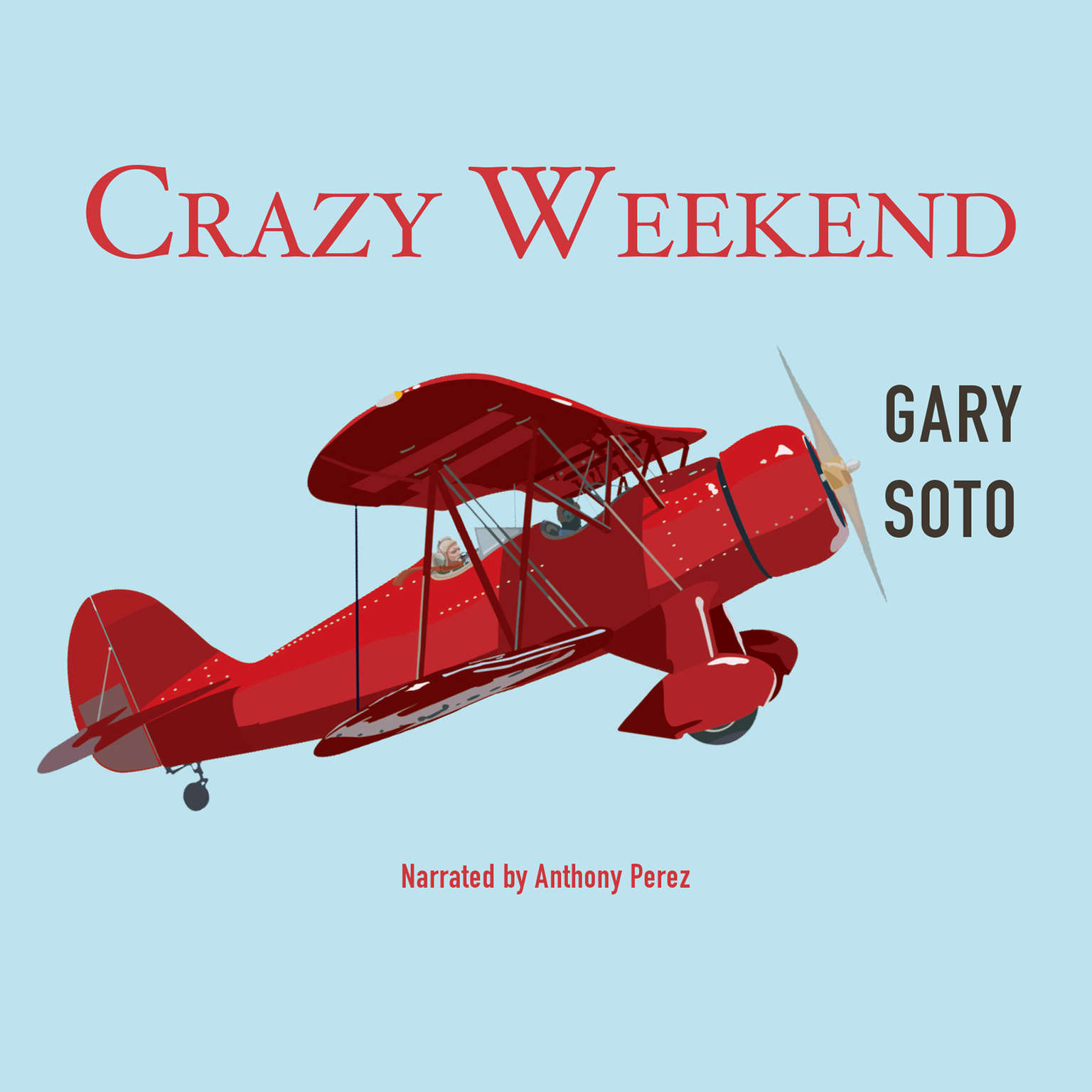 Printable Crazy Weekend Audiobook Cover Art