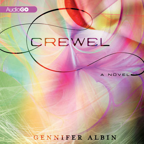 Printable Crewel Audiobook Cover Art