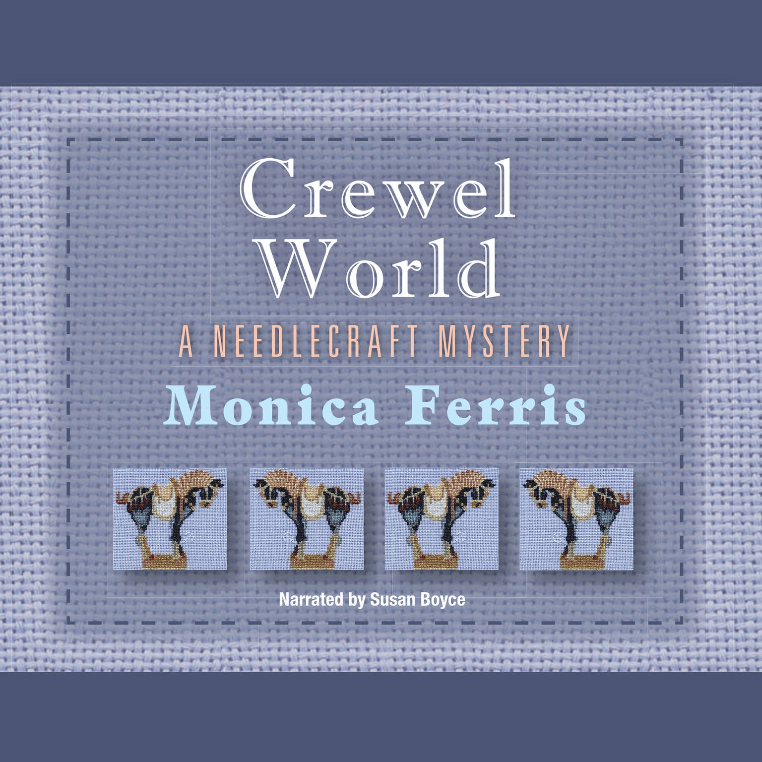 Printable Crewel World Audiobook Cover Art