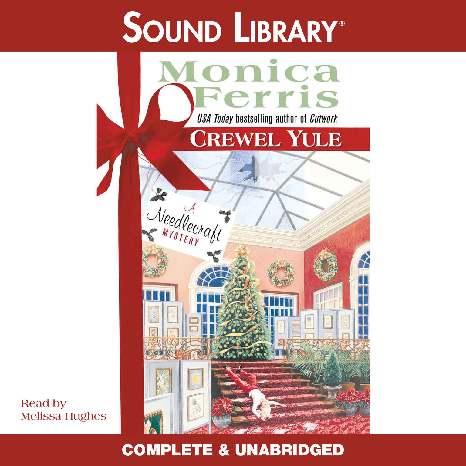 Printable Crewel Yule Audiobook Cover Art