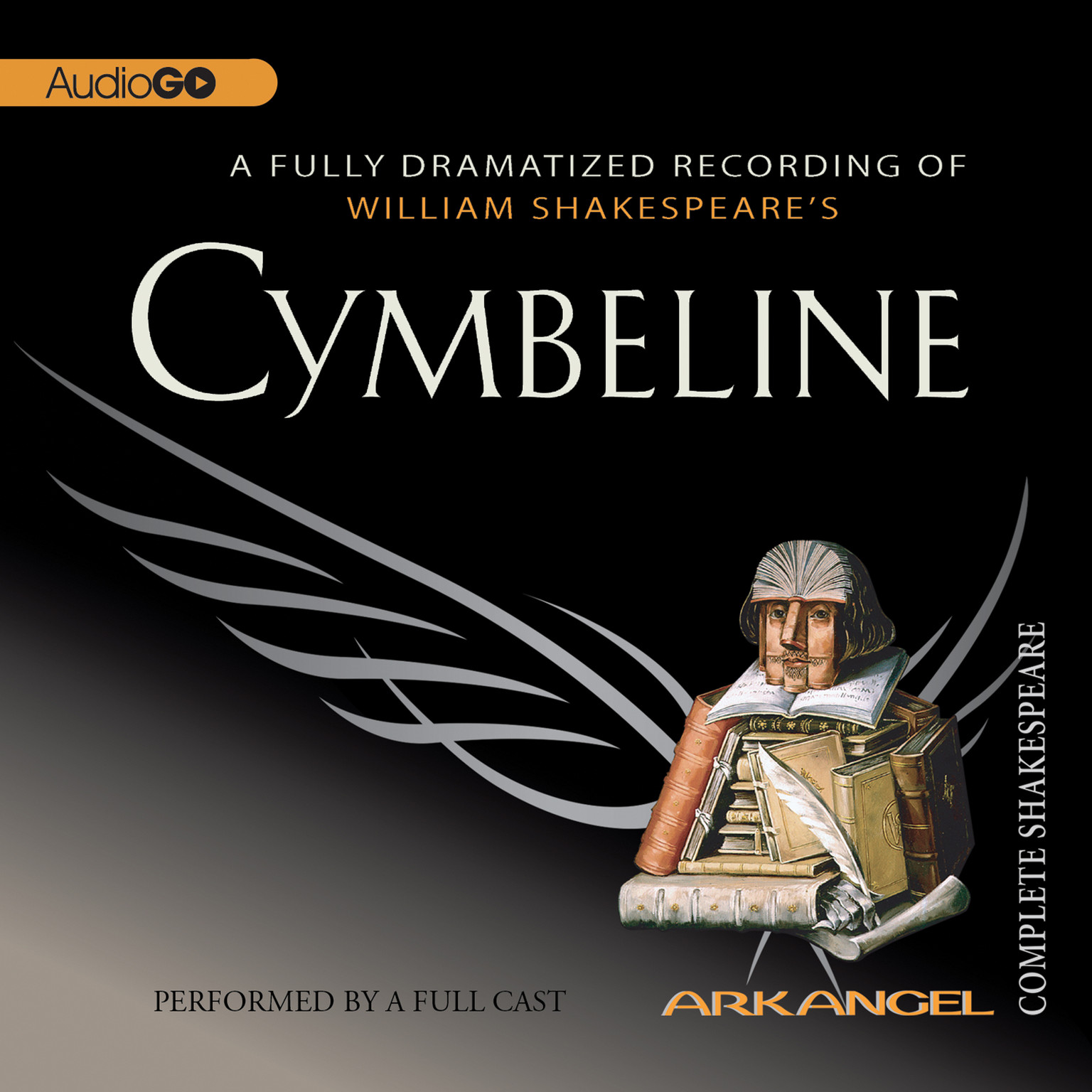 Printable Cymbeline Audiobook Cover Art