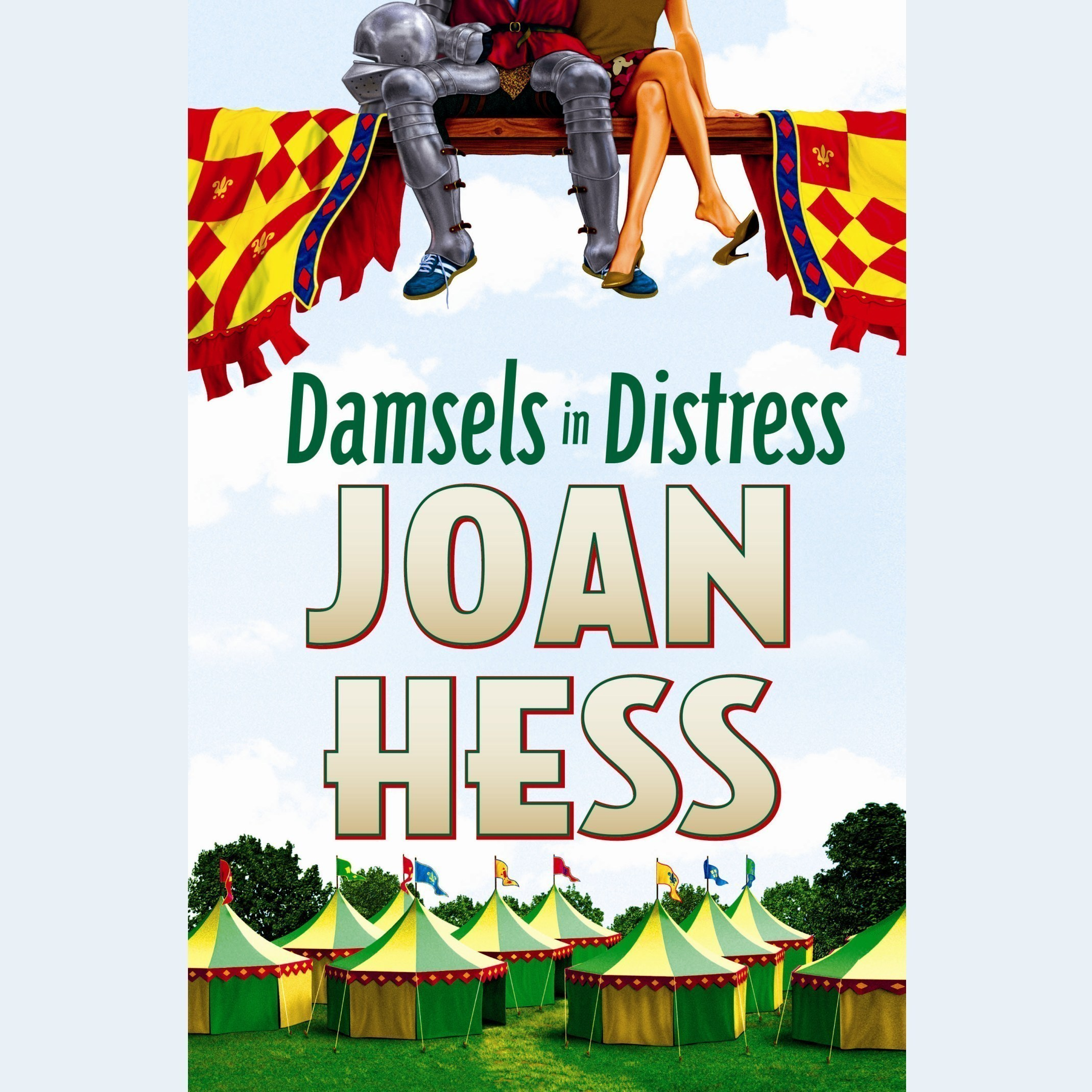 Printable Damsels in Distress Audiobook Cover Art