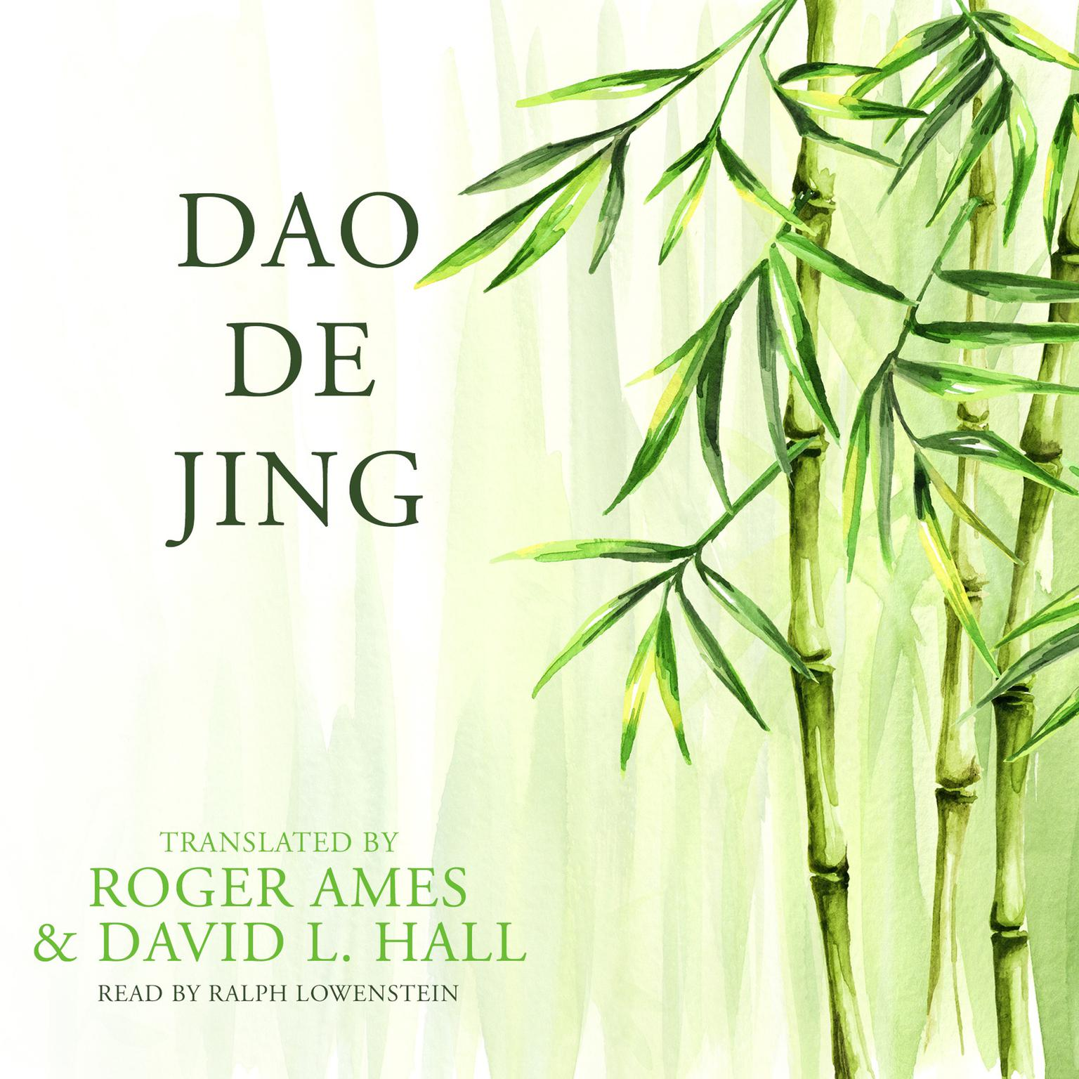 Printable Dao De Jing Audiobook Cover Art