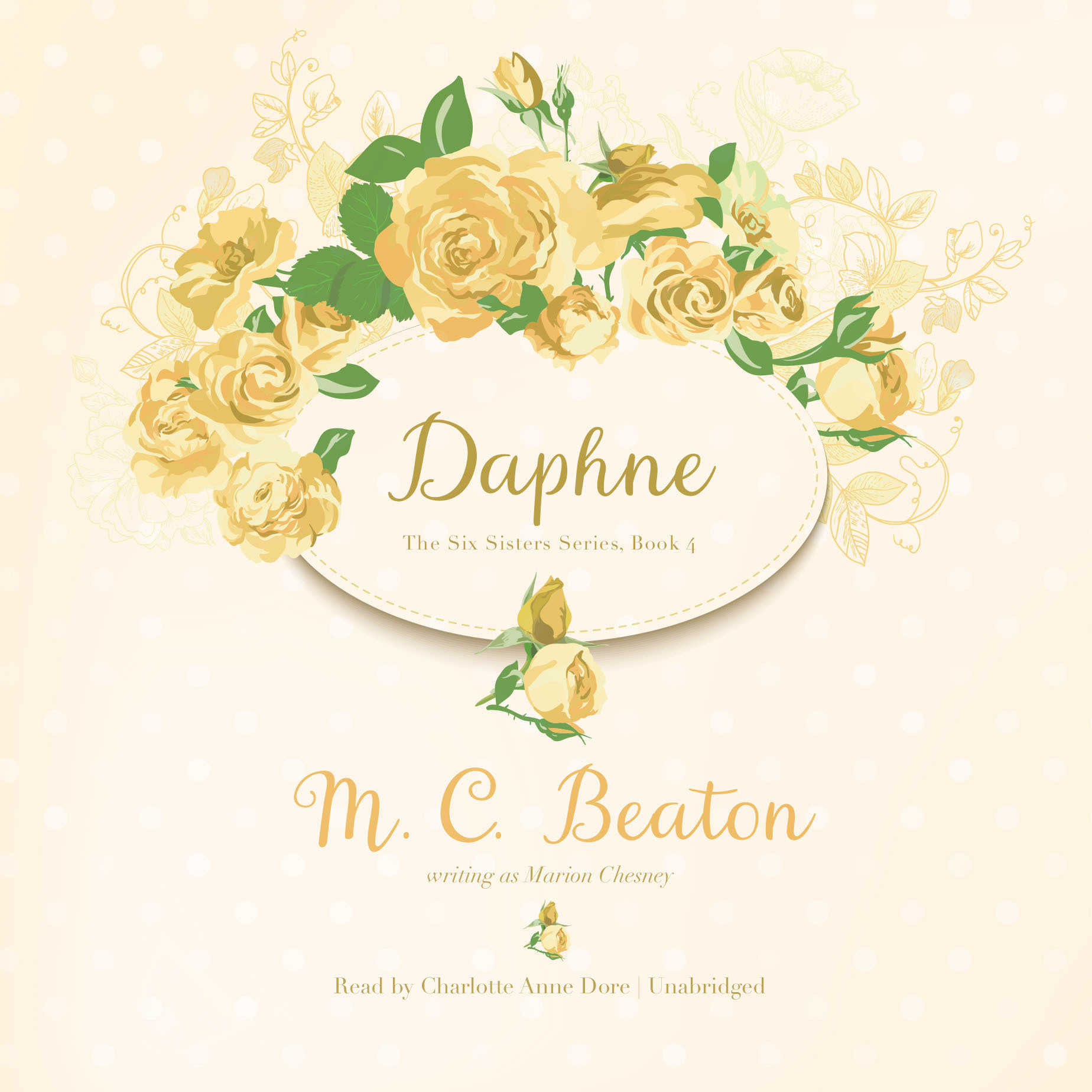 Printable Daphne Audiobook Cover Art