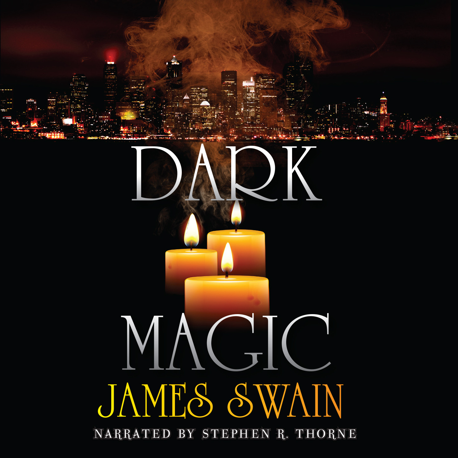 Printable Dark Magic Audiobook Cover Art