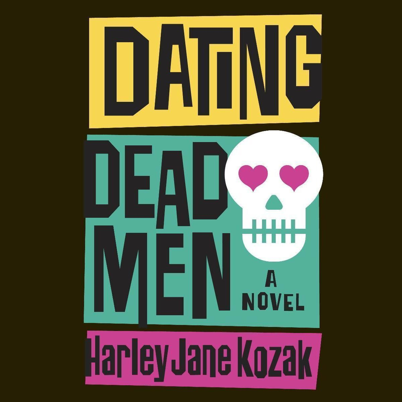 Printable Dating Dead Men Audiobook Cover Art