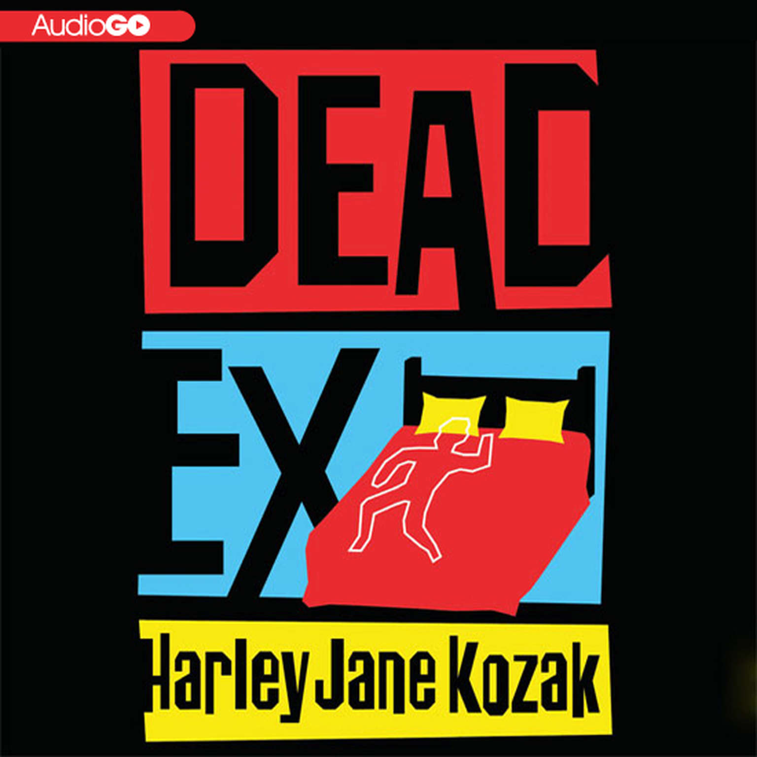 Printable Dead Ex Audiobook Cover Art