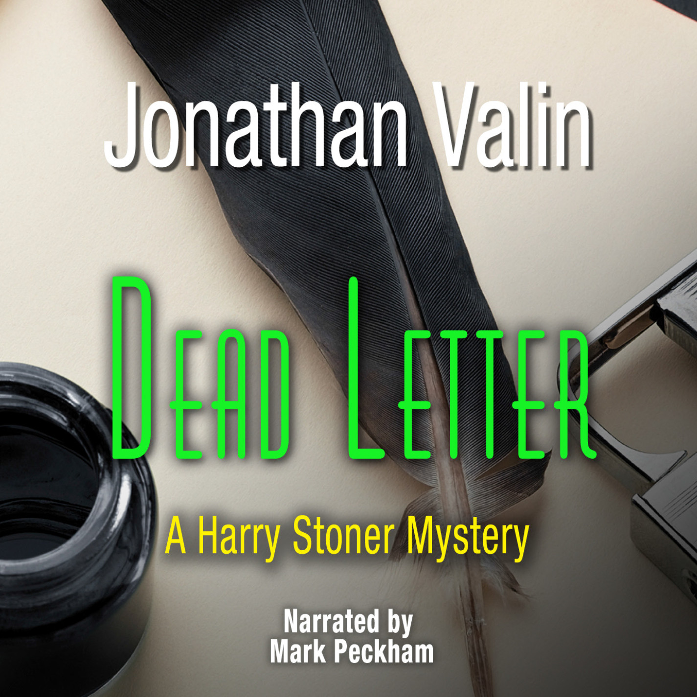 Printable Dead Letter Audiobook Cover Art