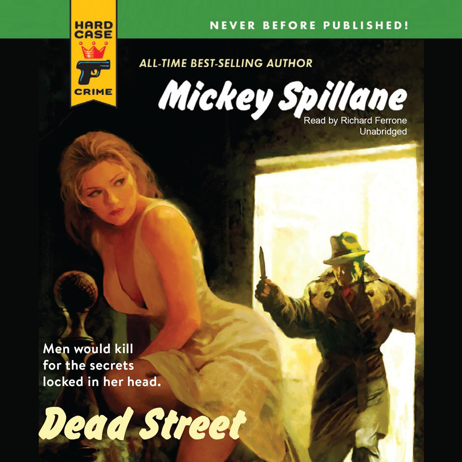 Printable Dead Street Audiobook Cover Art