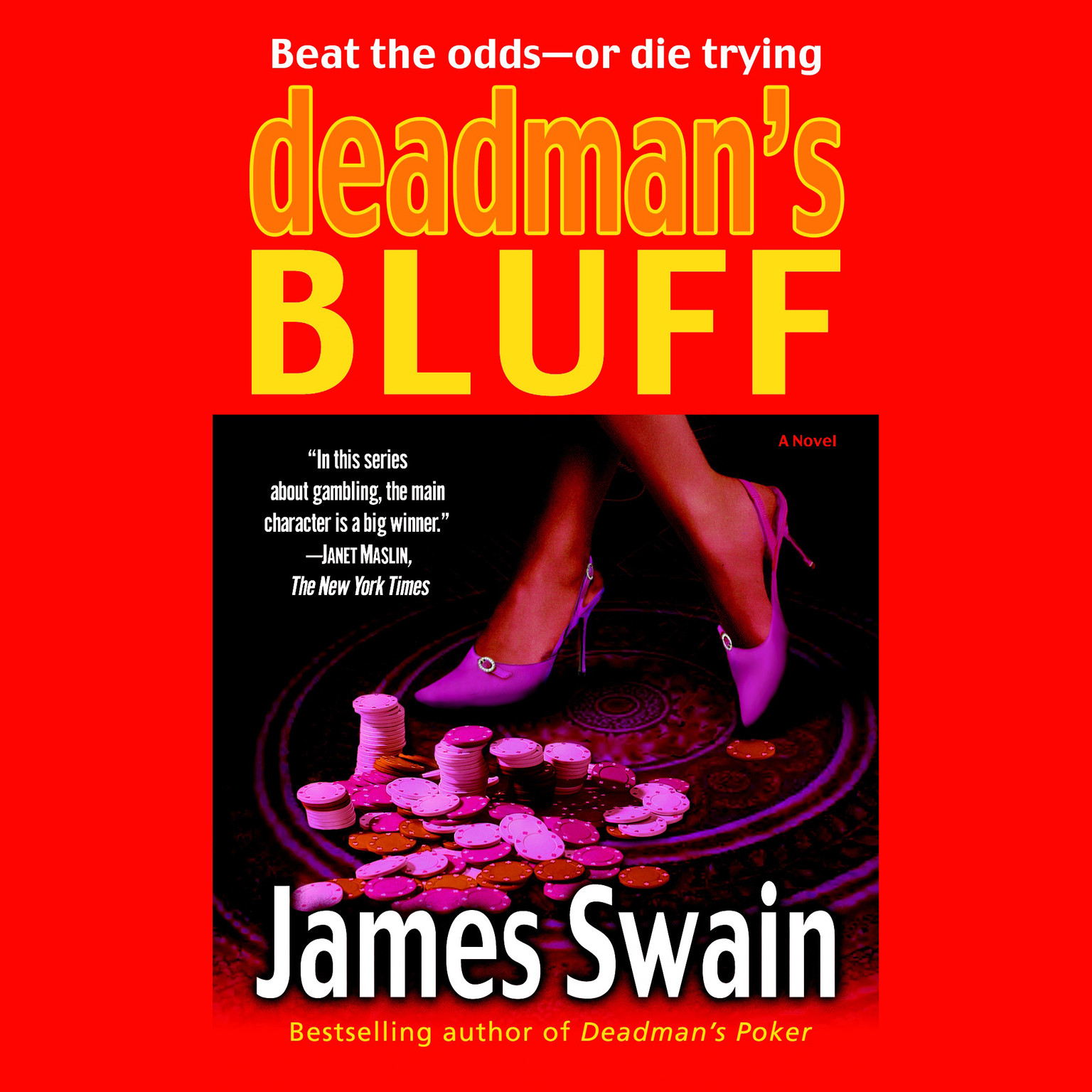 Printable Deadman's Bluff Audiobook Cover Art