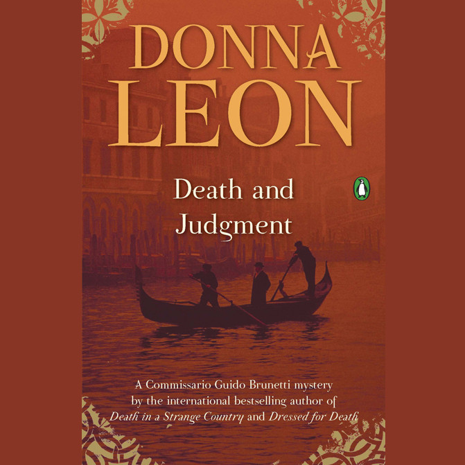 Death and Judgment Audiobook, by Donna Leon