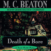 Death of a Bore Audiobook, by M. C. Beaton