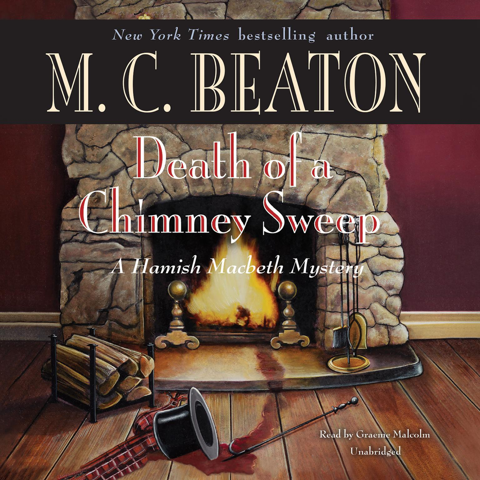 Printable Death of a Chimney Sweep Audiobook Cover Art