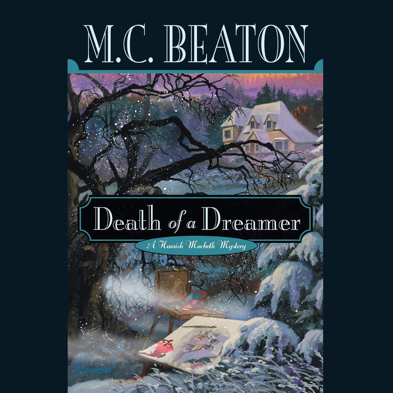 Printable Death of a Dreamer Audiobook Cover Art