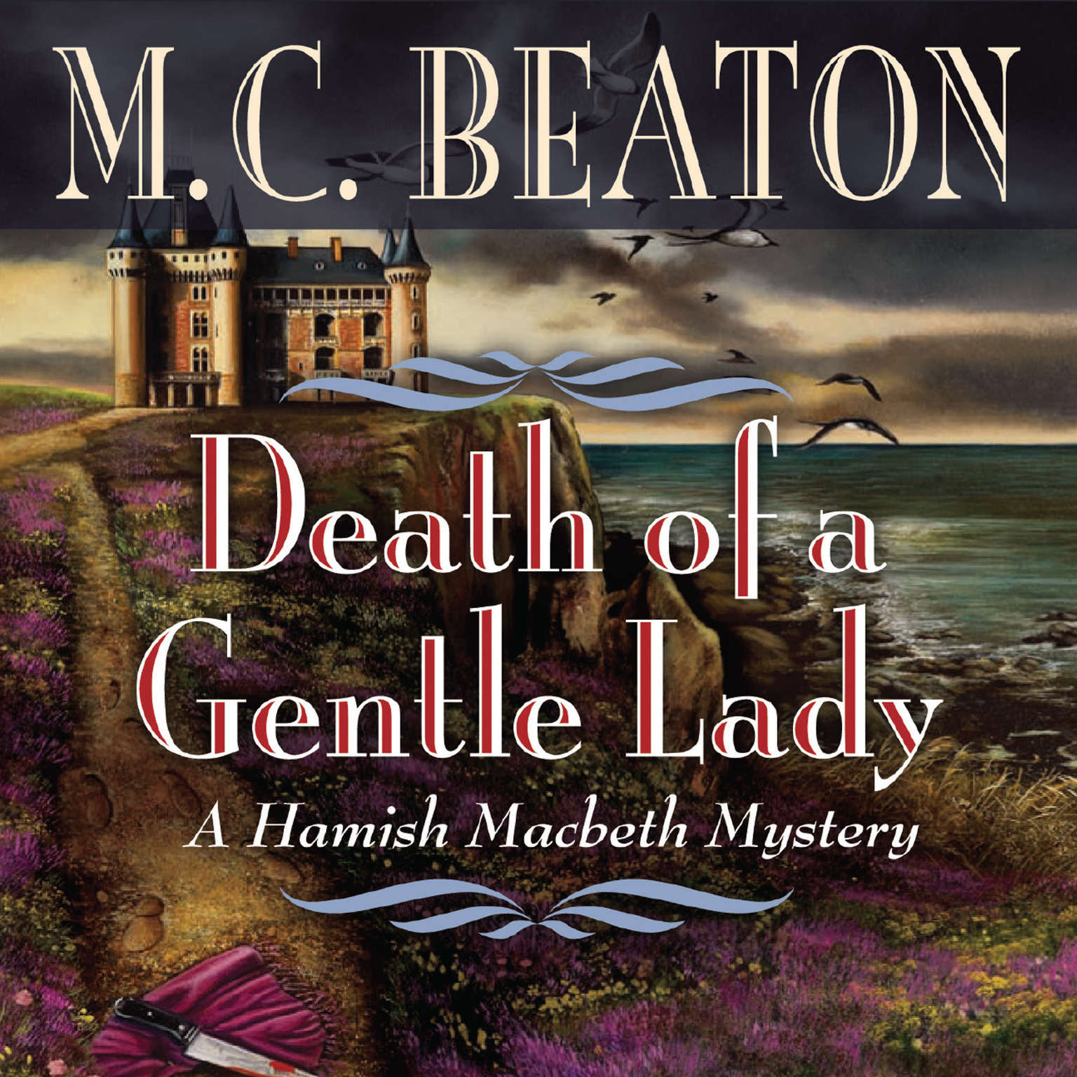 Printable Death of a Gentle Lady Audiobook Cover Art