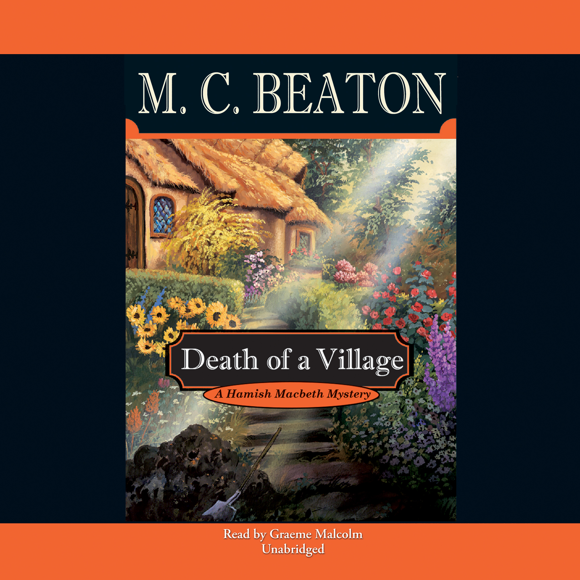 Printable Death of a Village Audiobook Cover Art