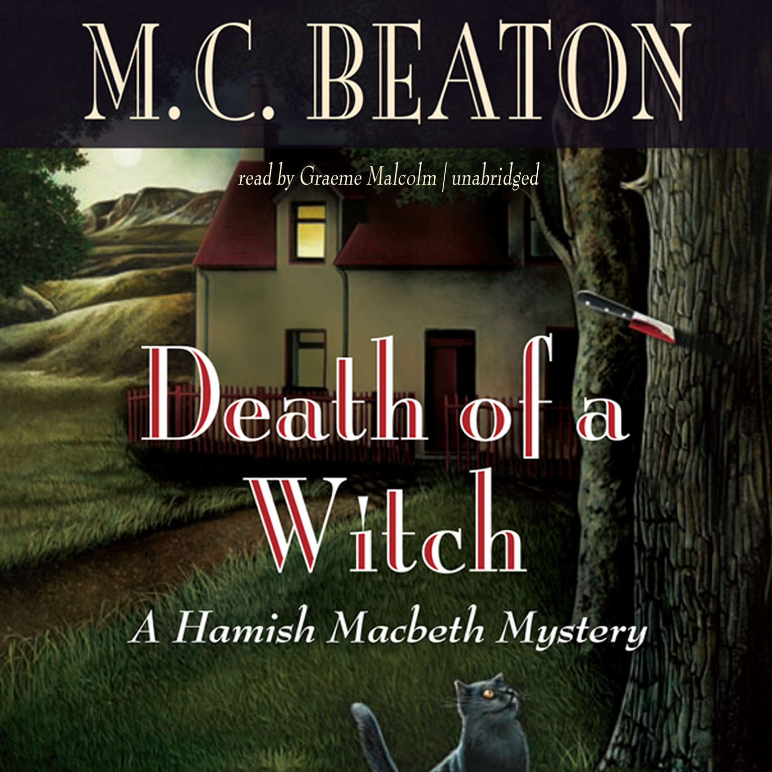 Printable Death of a Witch Audiobook Cover Art