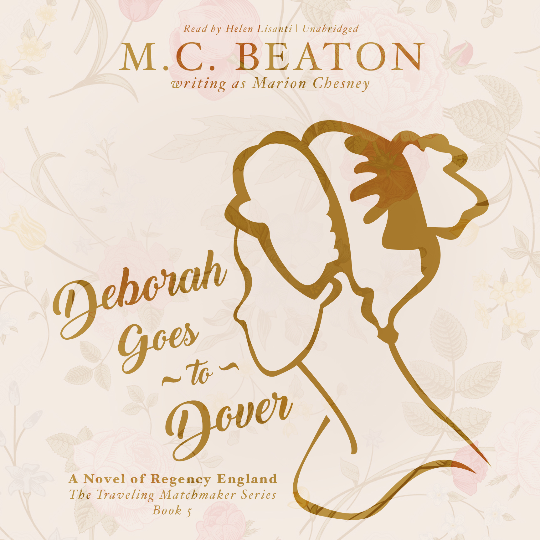 Printable Deborah Goes to Dover: A Novel of Regency England Audiobook Cover Art