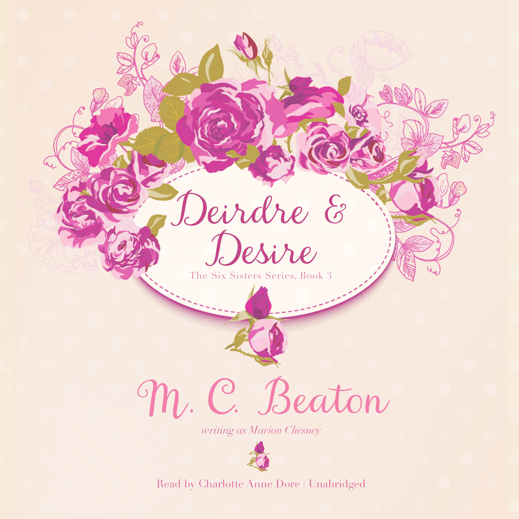Printable Deirdre and Desire Audiobook Cover Art