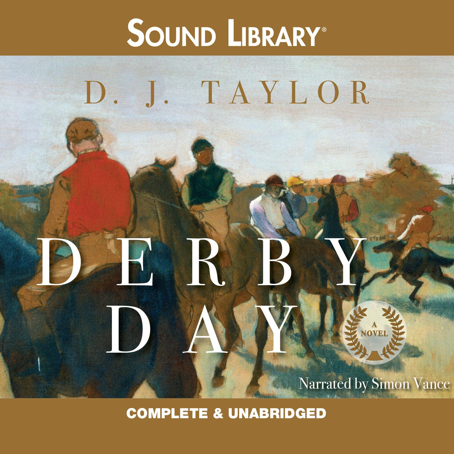Printable Derby Day Audiobook Cover Art