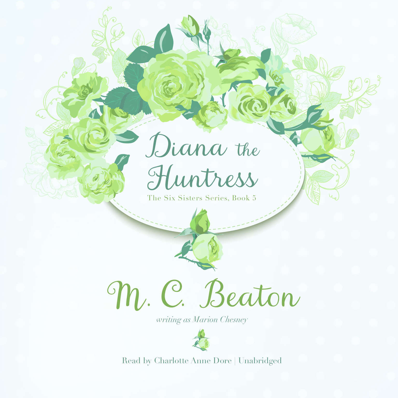 Printable Diana the Huntress Audiobook Cover Art