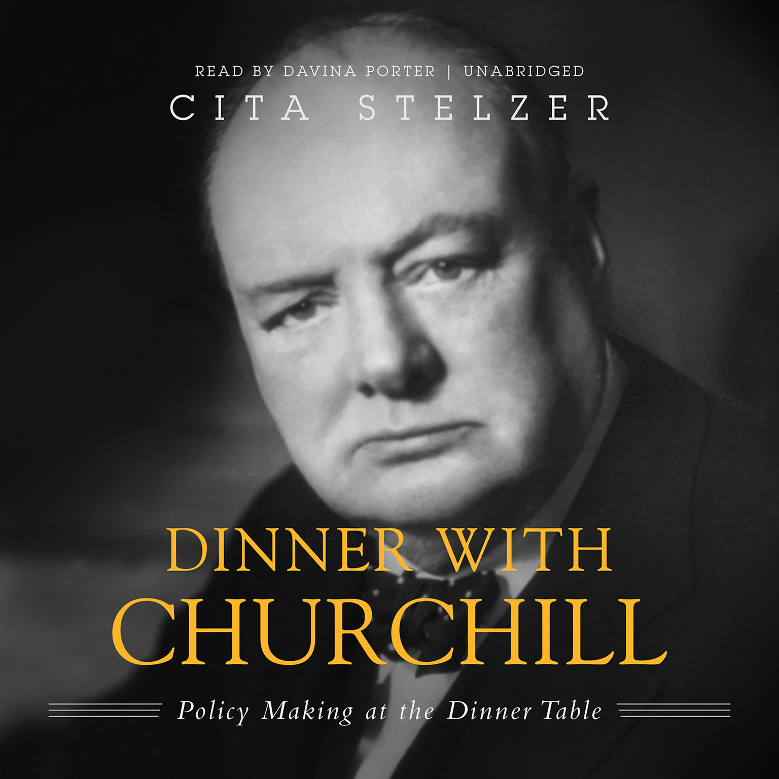 Printable Dinner with Churchill: Policy-Making at the Dinner Table Audiobook Cover Art