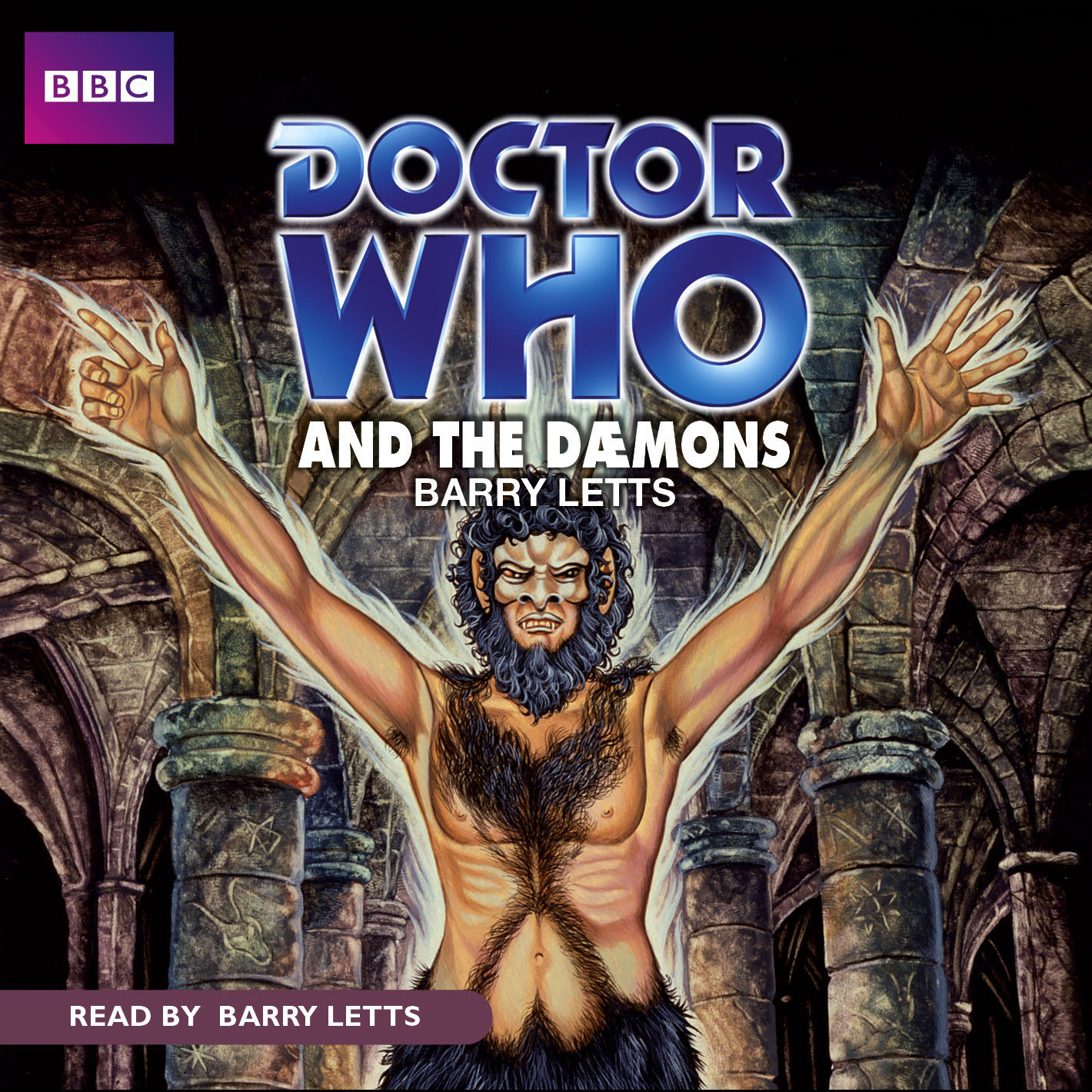 Printable Doctor Who and the Dæmons Audiobook Cover Art