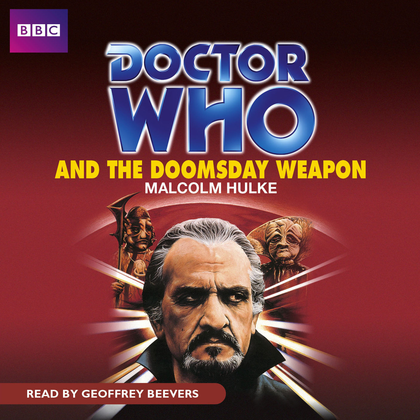 Printable Doctor Who and the Doomsday Weapon Audiobook Cover Art