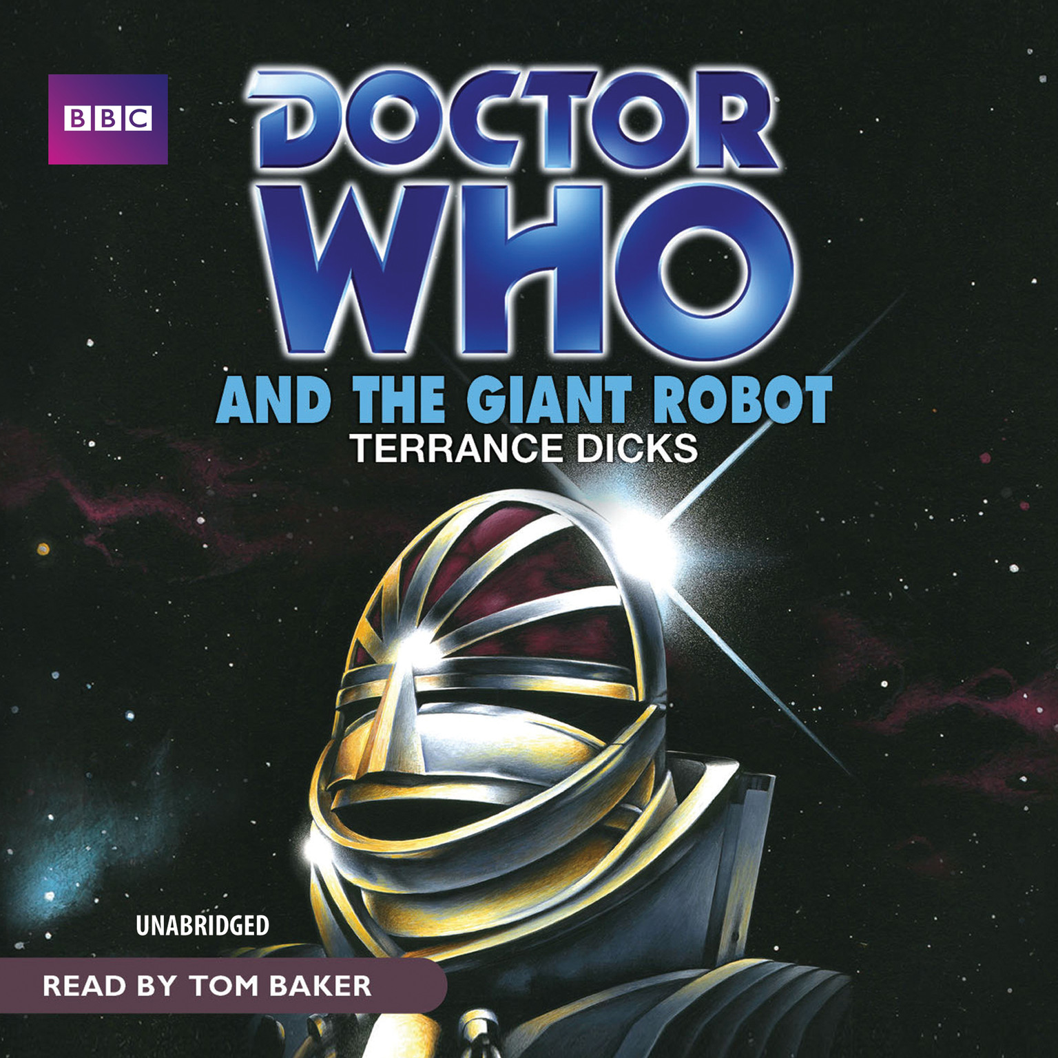 Printable Doctor Who and the Giant Robot Audiobook Cover Art