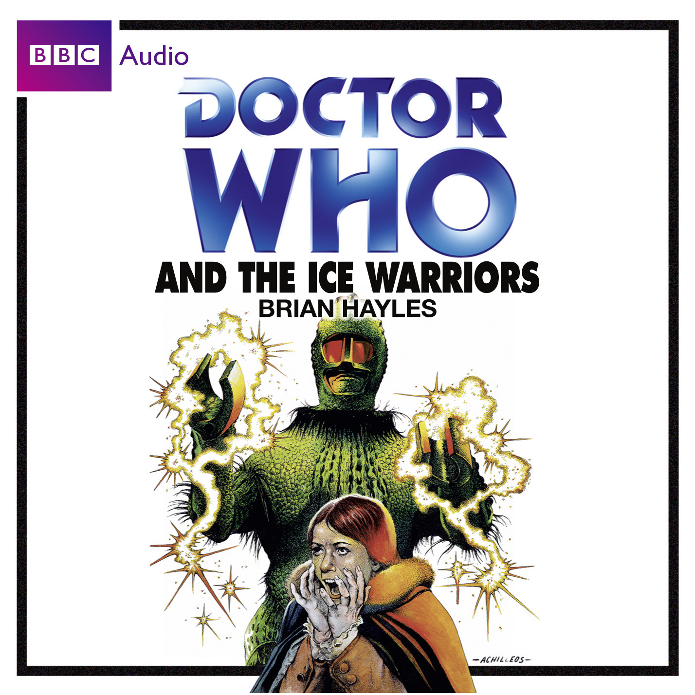 Printable Doctor Who and the Ice Warriors Audiobook Cover Art
