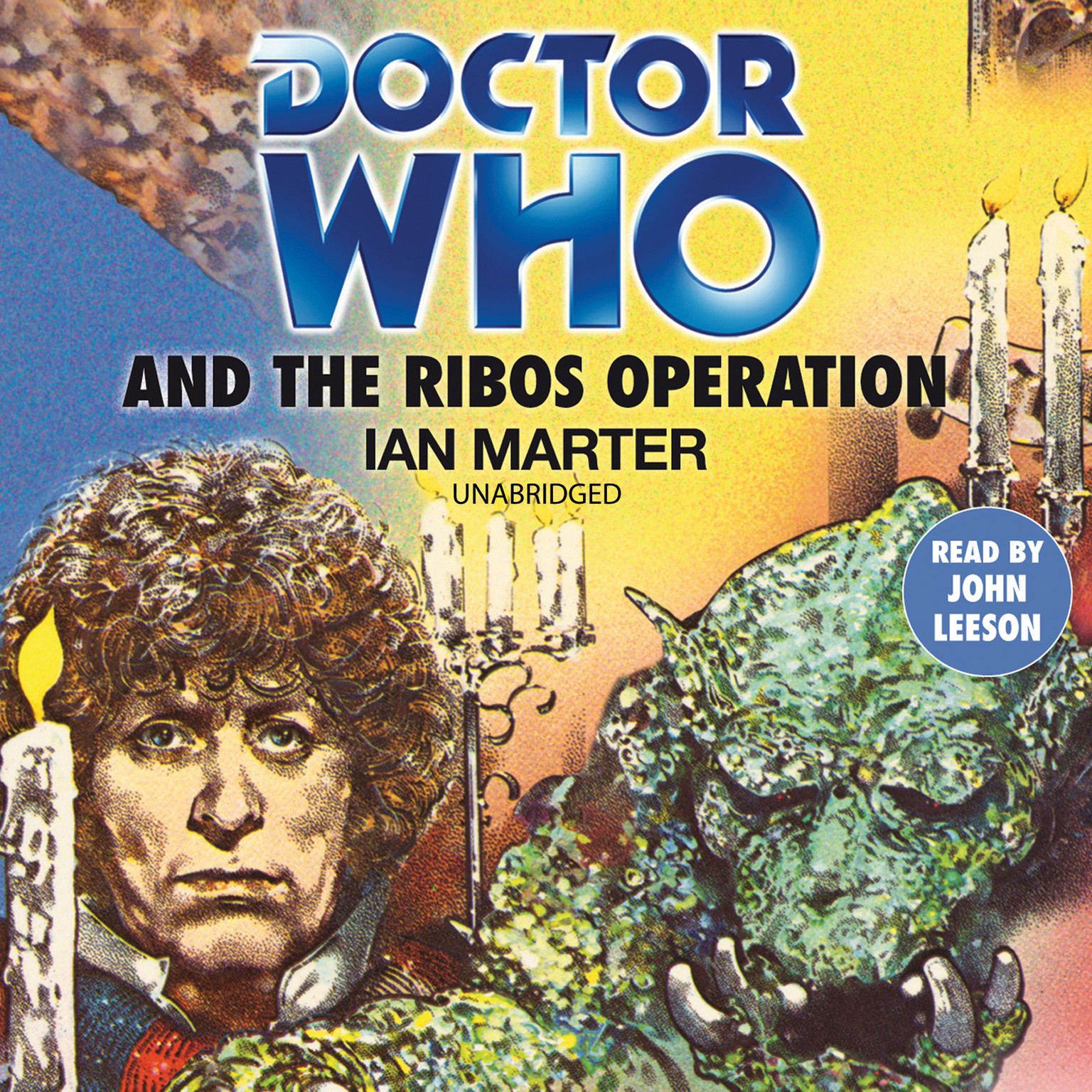 Printable Doctor Who and the Ribos Operation Audiobook Cover Art