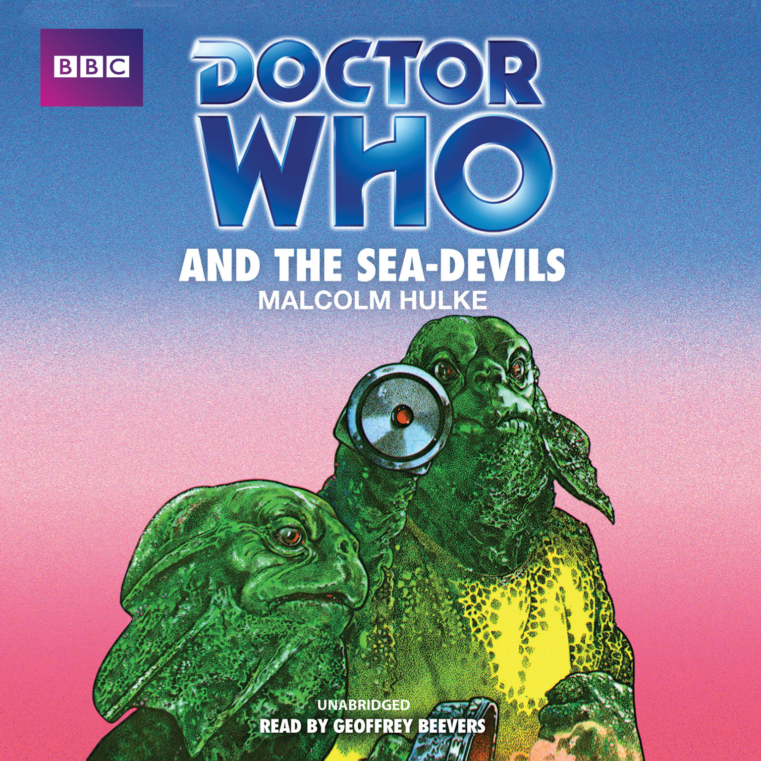 Printable Doctor Who and the Sea-Devils Audiobook Cover Art
