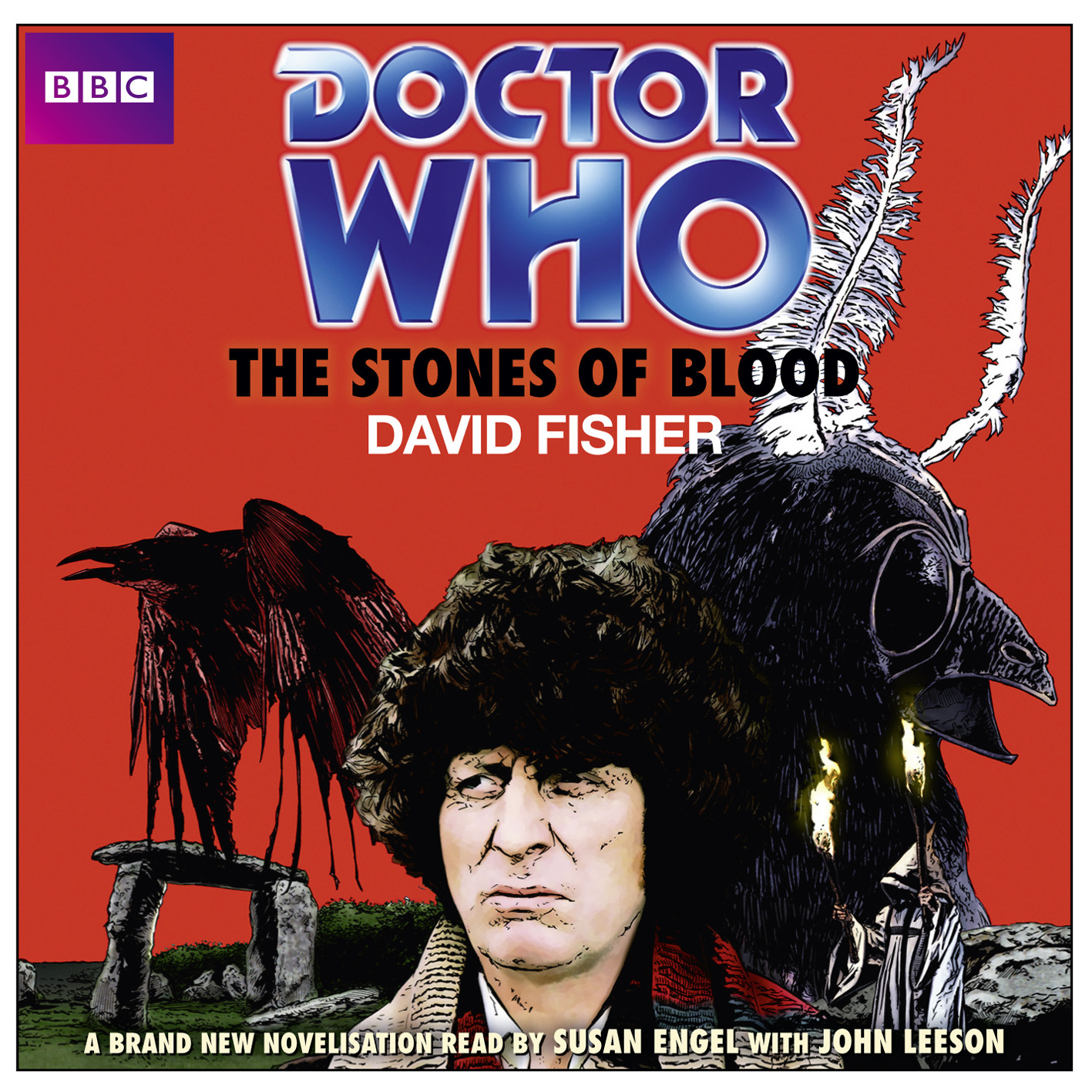 Printable Doctor Who: The Stones of Blood Audiobook Cover Art