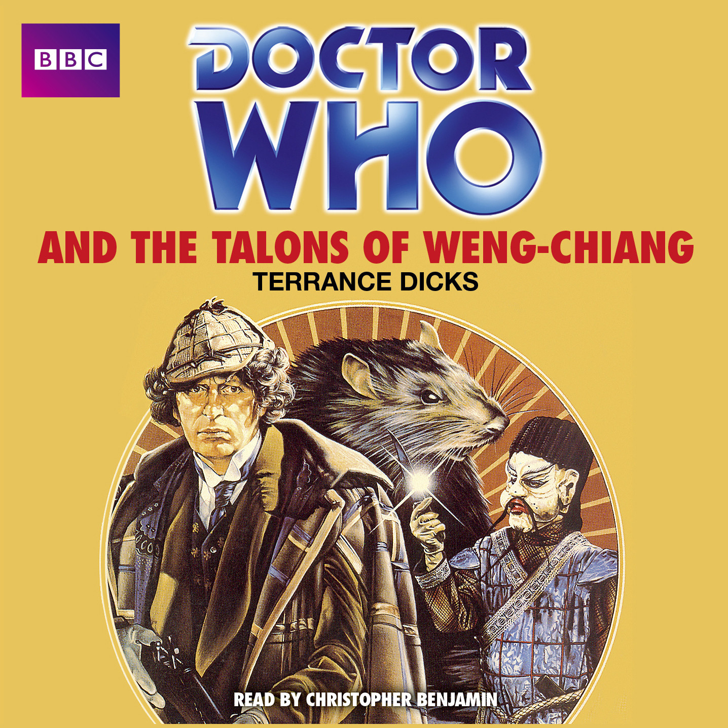 Printable Doctor Who and the Talons of Weng-Chiang Audiobook Cover Art