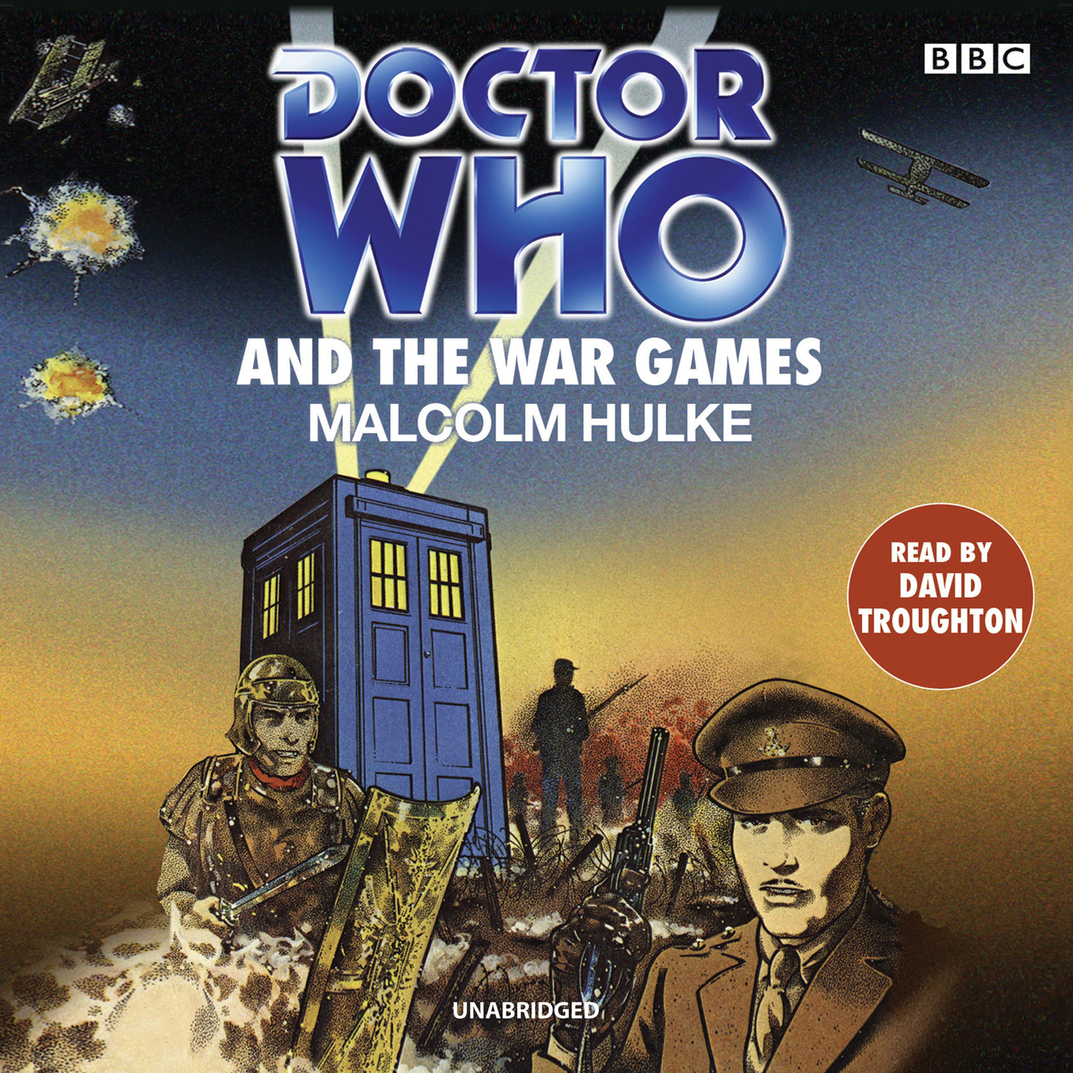 Printable Doctor Who and the War Games Audiobook Cover Art