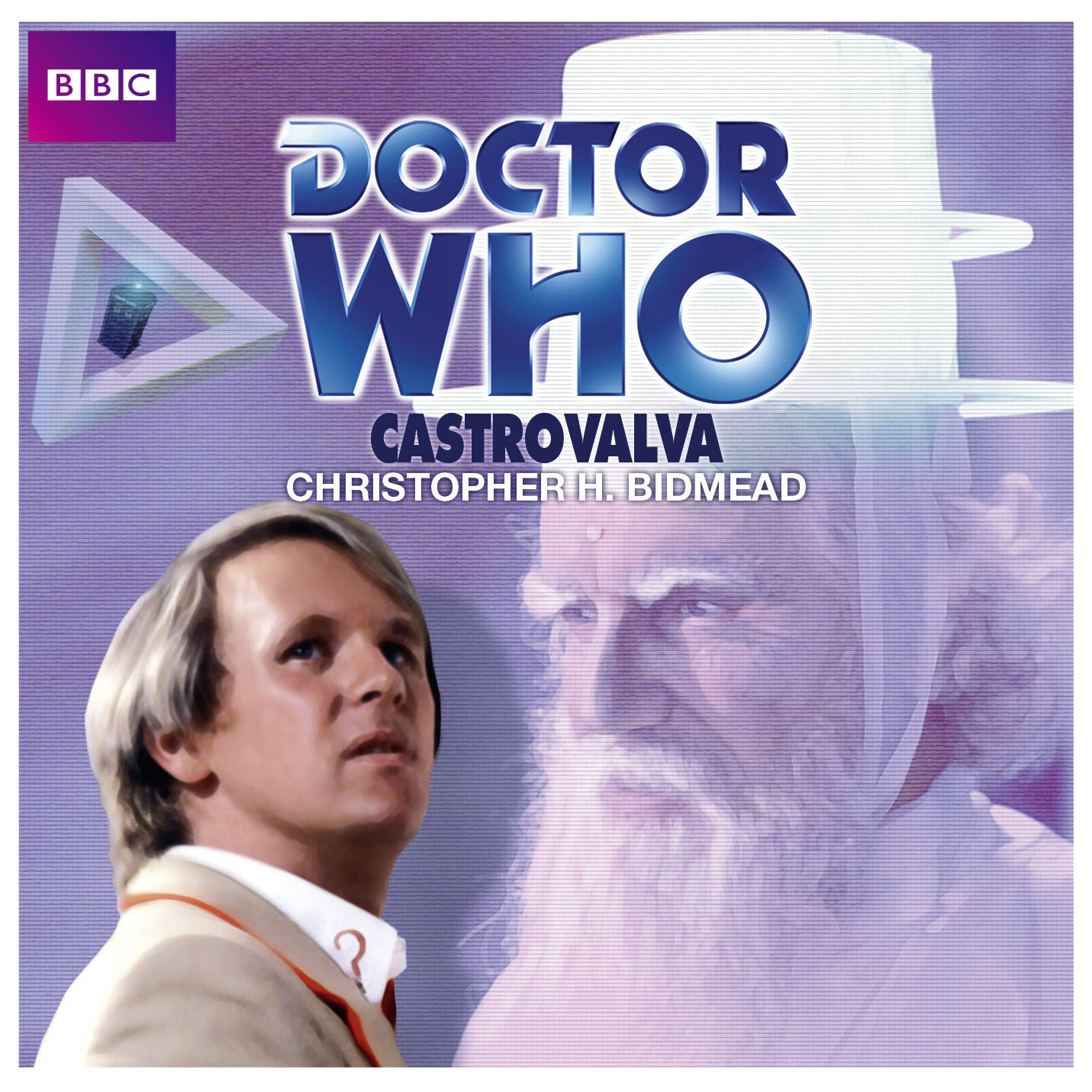 Printable Doctor Who: Castrovalva Audiobook Cover Art