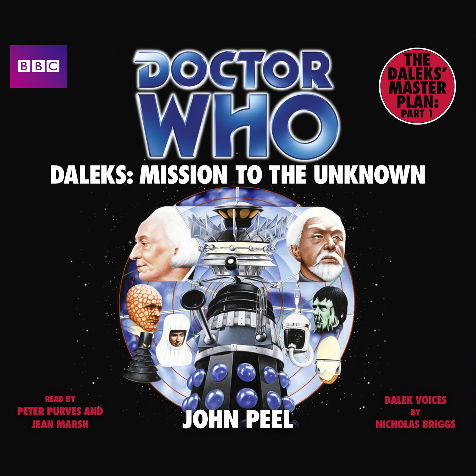 Printable Doctor Who: Daleks: Mission to the Unknown Audiobook Cover Art