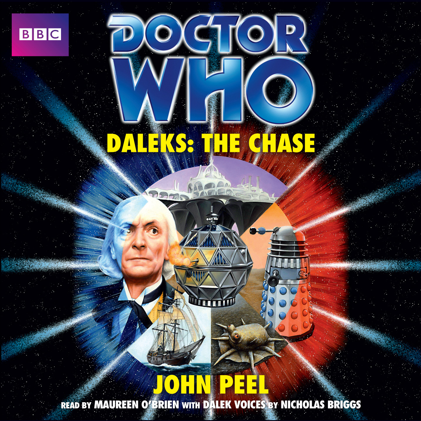 Printable Doctor Who: Daleks: The Chase Audiobook Cover Art