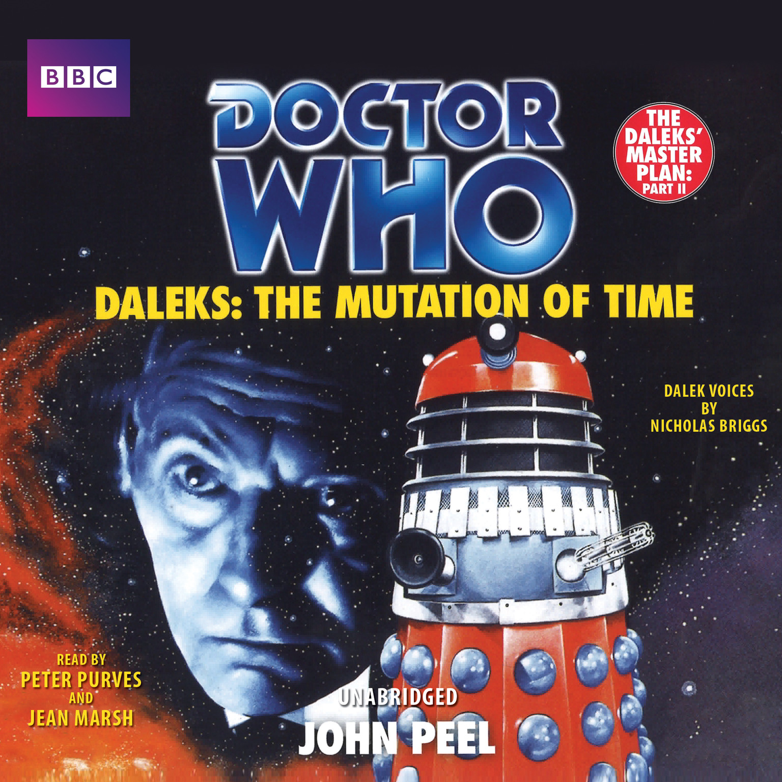 Printable Doctor Who: Daleks: The Mutation of Time Audiobook Cover Art