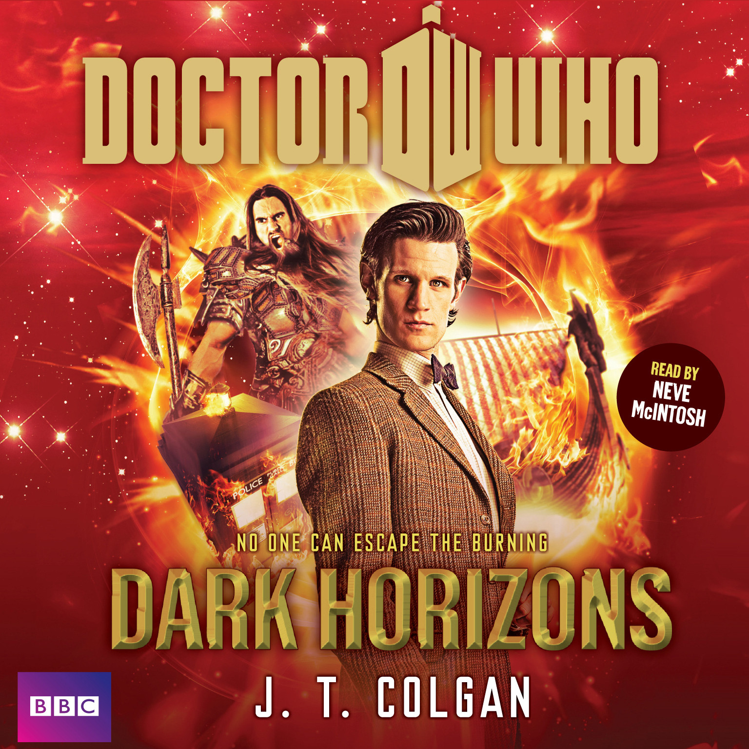 Printable Doctor Who: Dark Horizons Audiobook Cover Art