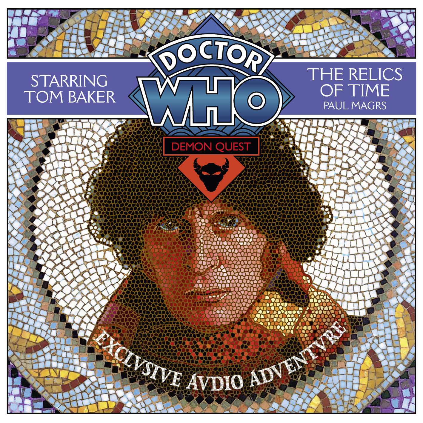 Printable Doctor Who: The Relics of Time Audiobook Cover Art