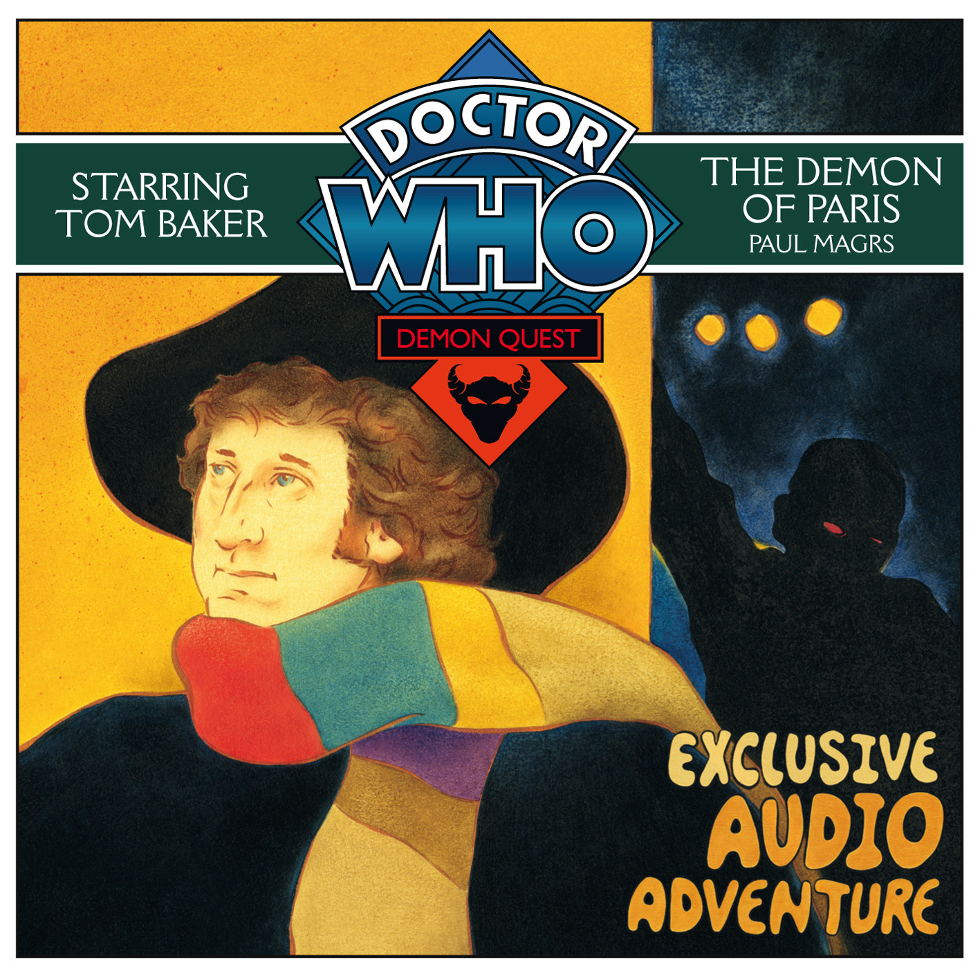 Printable Doctor Who: The Demon of Paris Audiobook Cover Art