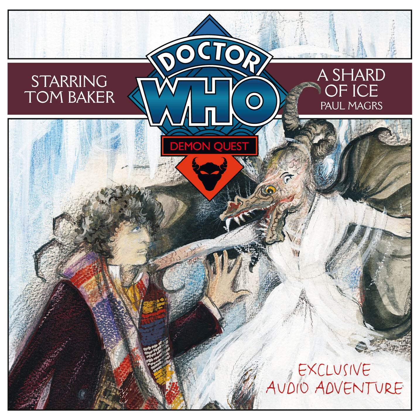 Printable Doctor Who: A Shard of Ice Audiobook Cover Art