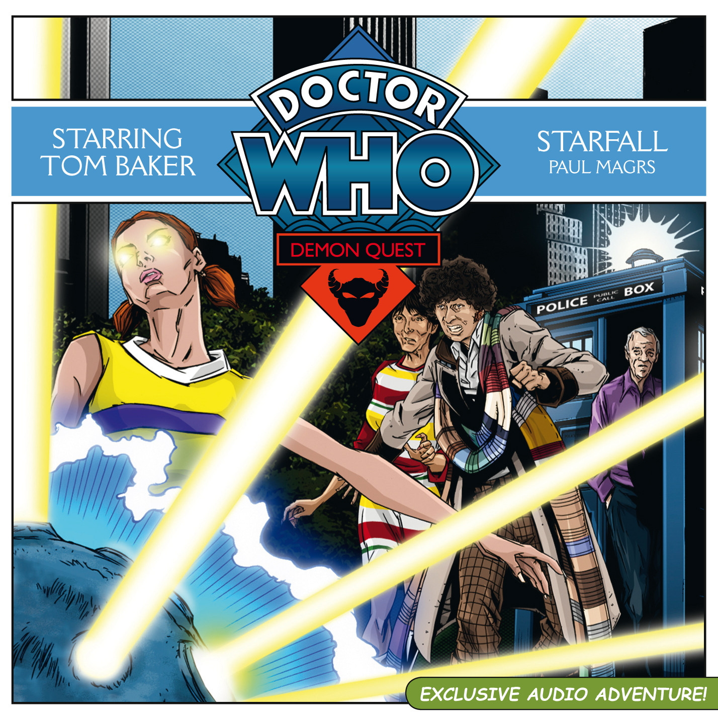 Printable Doctor Who: Starfall Audiobook Cover Art