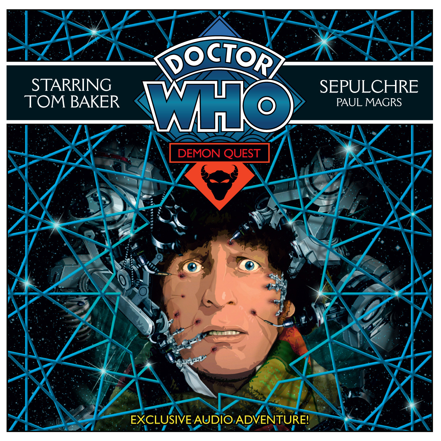 Printable Doctor Who: Sepulchre Audiobook Cover Art
