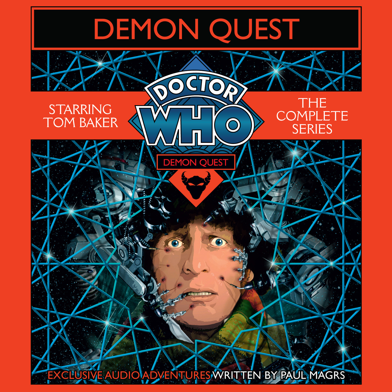 Printable Doctor Who: Demon Quest: The Complete Series Audiobook Cover Art